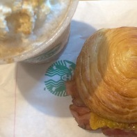 4 year strong tradition of a solo breakfast over Jesus time at Starbucks! They buy my coffee, I buy myself a pastry or sandwich.