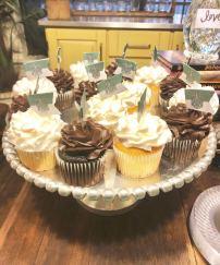 Slytherin Cupcakes